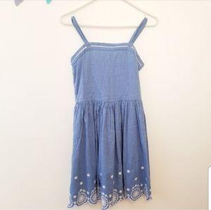 Cat & Jack Girls Chambray Summer Dress